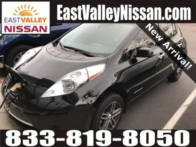 Photo Used 2015 Nissan Leaf S Hatchback in Mesa