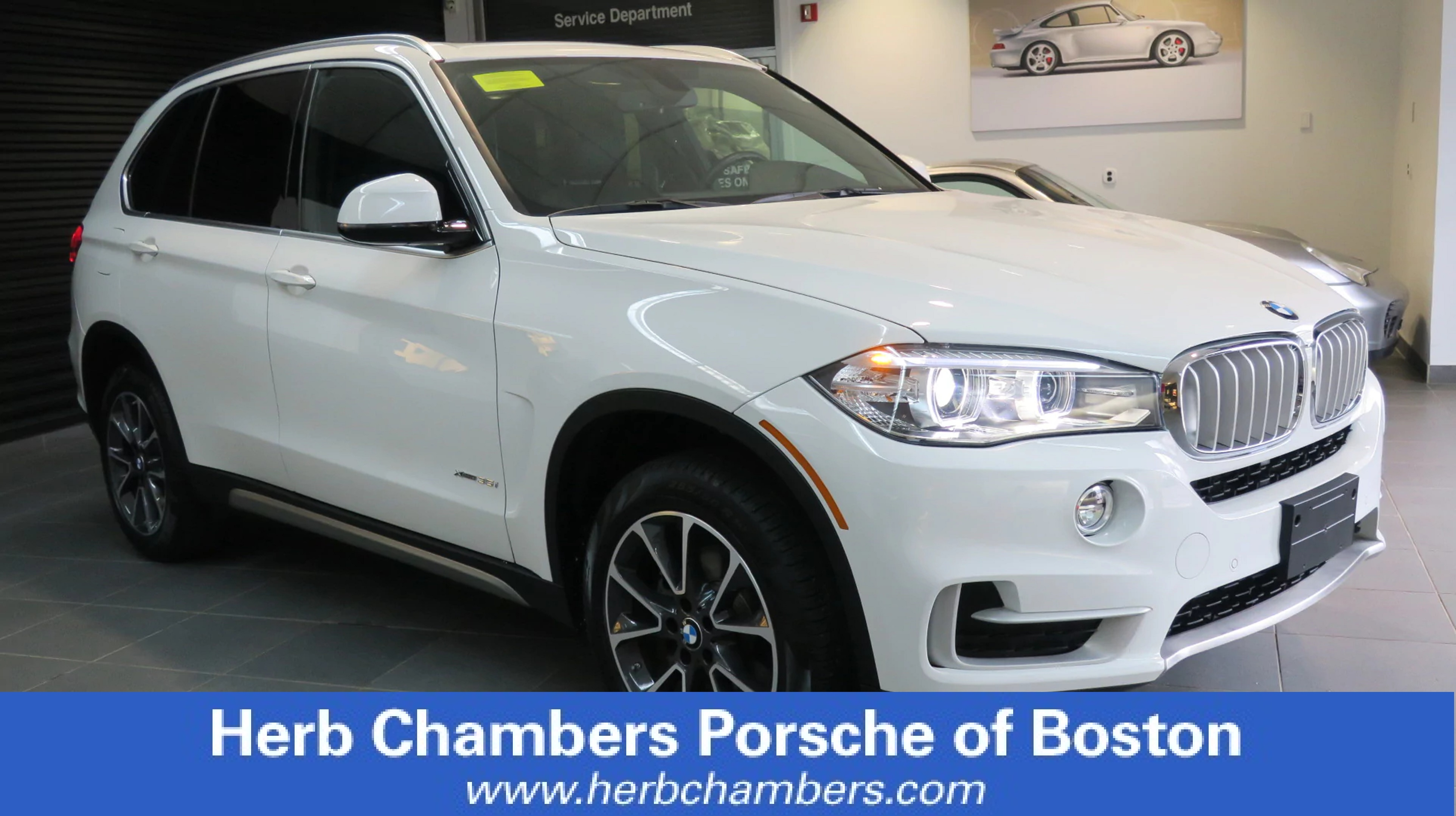 Photo Certified Pre-Owned 2017 BMW X5 3.5x SUV in Boston, MA
