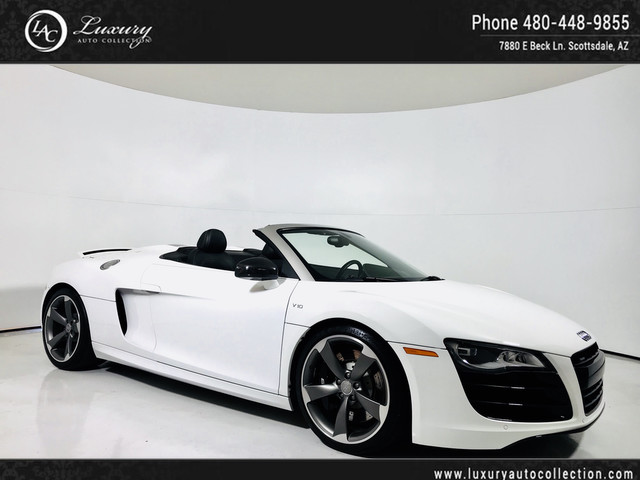 Photo 2012 Audi R8 5.2L  RS5 Wheels  Custom Exhaust  Full Carbon Int  13 14 All Wheel Drive Convertible