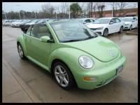Used 2005 Volkswagen New Beetle Convertible GLS Turbo Auto in Houston, TX