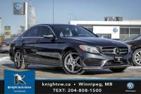 Pre-Owned 2015 Mercedes-Benz C-Class C 300 4MATIC AWD w/ AMG/Nav/Sunroof/Light Package AWD 4MATIC 4dr Car