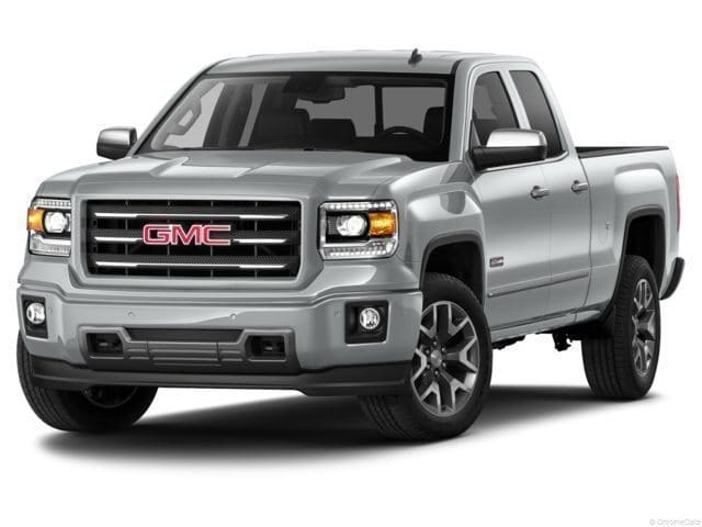 Photo 2015 Certified Used GMC Sierra 1500 Truck Double Cab SLE Emerald Green For Sale Manchester NH  Nashua  StockG18259B