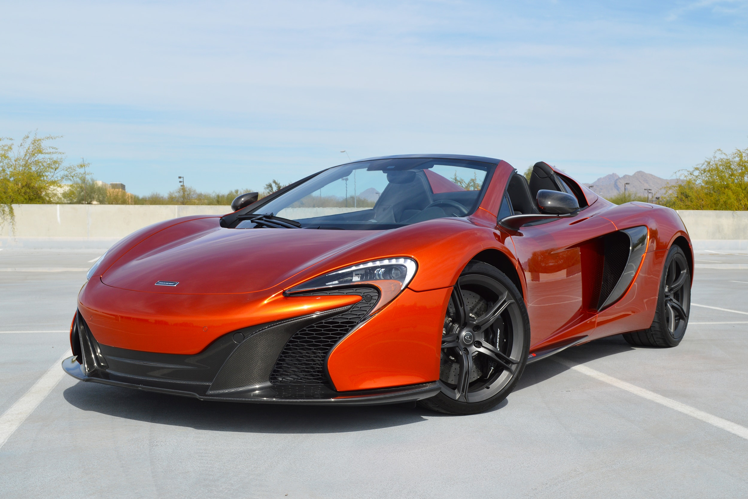 Photo Certified Pre-Owned 2015 McLaren 650S Spider Convertible For Sale Scottsdale, AZ