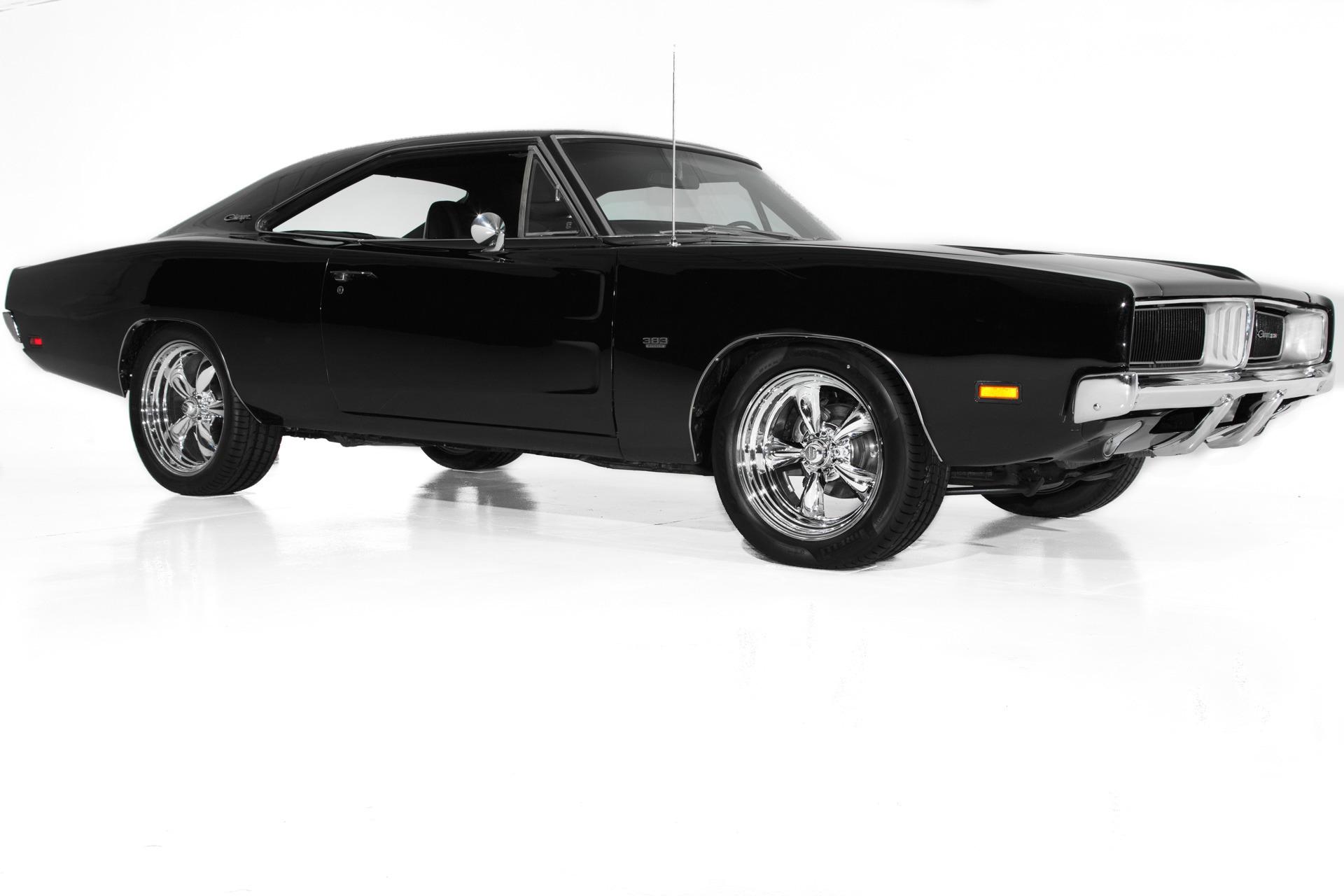 Photo 1969 Dodge Charger Black 383 Big Block, 4 speed