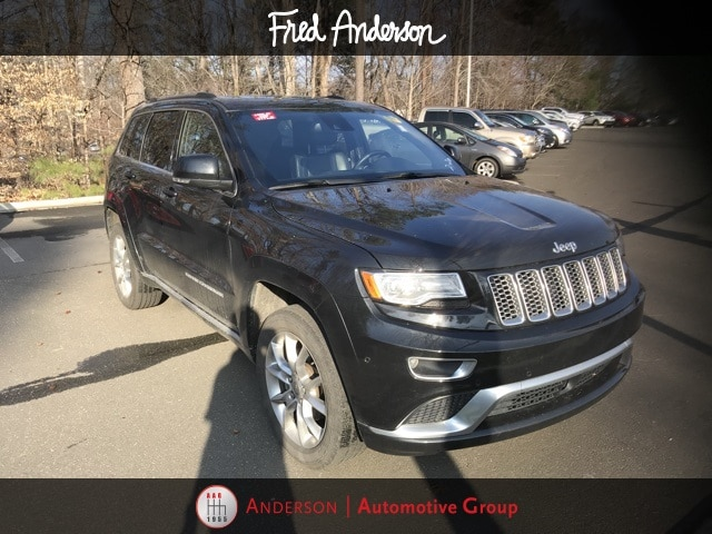 Photo Pre-Owned 2015 Jeep Grand Cherokee Summit SUV For Sale  Raleigh NC