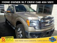 2014 Ford F-150 !LOW Mileage ONE Owner XLT V8 4X4! Truck SuperCrew Cab V-8 cyl