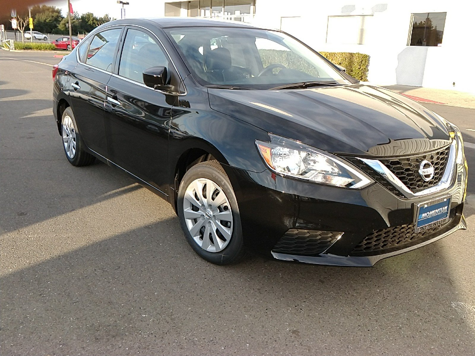 Photo Used 2018 Nissan Sentra S Sedan in Fairfield CA