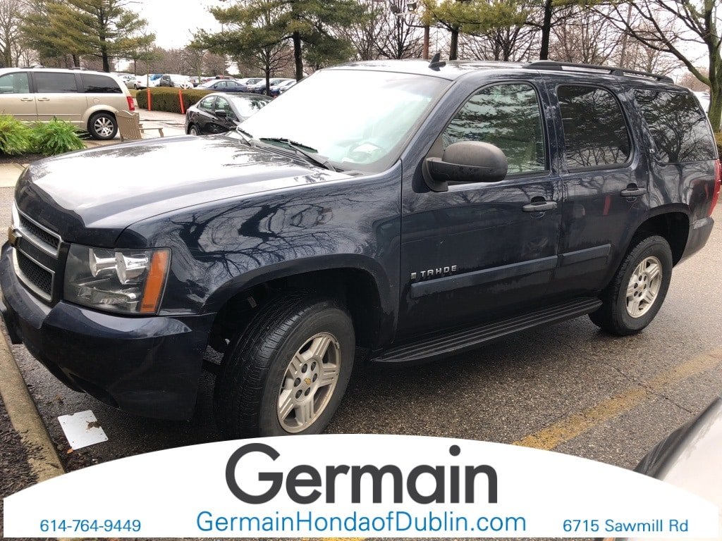 Photo Used 2008 Chevrolet Tahoe LS For Sale Dublin OH  Stock J3163A