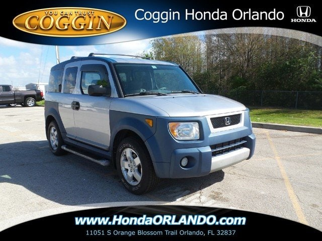 Photo Pre-Owned 2005 Honda Element EX wSide Airbags SUV in Orlando FL