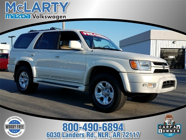 Photo Pre-Owned 2002 Toyota 4Runner Limited V6 in Little RockNorth Little Rock AR