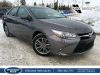 Used 2017 Toyota Camry SE Heated Seats, Cloth Interior Front Wheel Drive 4 Door Car