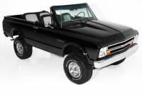 1971 Chevrolet Blazer Black 4WD Houndstooth, EXTENSIVE FRAME OFF RESTORATION