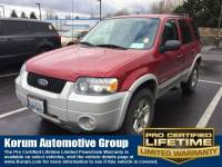 Used 2006 Ford Escape Hybrid Hybrid SUV I-4 cyl for Sale in Puyallup near Tacoma