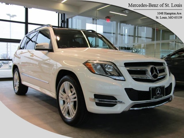 Photo Certified Pre-Owned 2015 Mercedes-Benz GLK-Class GLK 350 4MATIC SUV For Sale St. Louis, MO