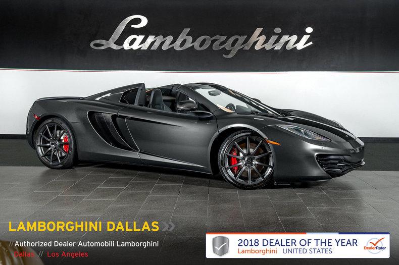 Photo Used 2014 McLaren MP4-12C Spider For Sale Richardson,TX  Stock LT1108 VIN SBM11BAA2EW003126
