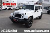 2015 Jeep Wrangler Unlimited Altitude - Leather - Hardtop - NAV - LOW MILES! SUV