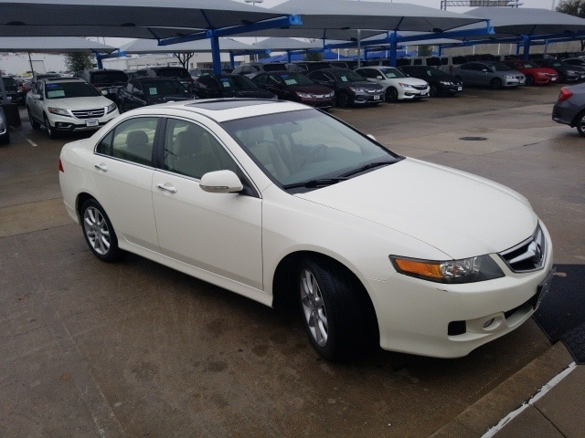Photo 2007 Acura TSX Base For Sale Near Fort Worth TX  DFW Used Car Dealer