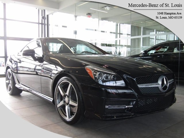 Photo Certified Pre-Owned 2015 Mercedes-Benz SLK 250 Roadster For Sale St. Louis, MO