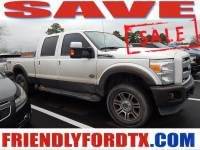 2015 Ford F-250 King Ranch Truck Crew Cab V-8 cyl near Houston