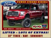 2015 Ford Super Duty F-250 Pickup Lariat ULTIMATE Crew Cab 4x4 - LIFTED - EXTRA$!