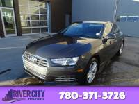 Pre-Owned 2017 Audi A4 AWD KOMFORT QUATTRO Leather, Heated Seats, Sunroof, Bluetooth, A/C,