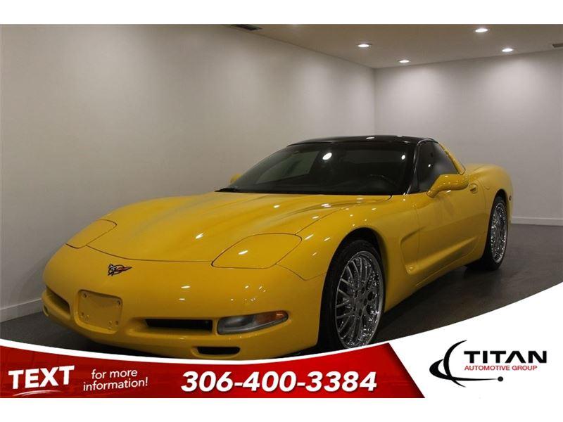 Photo 2001 Chevrolet Corvette C5 5.7L V8 Manual Leather Millennium Yellow