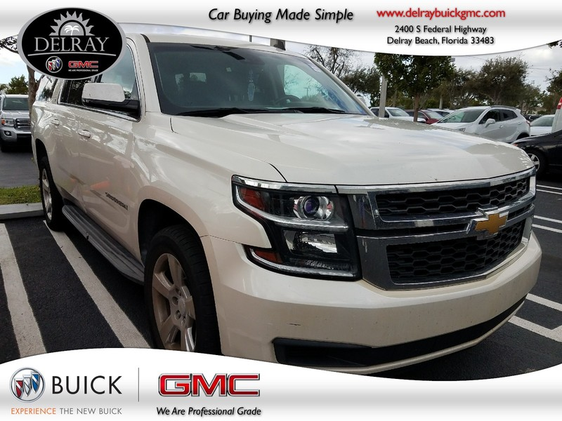 Photo Pre-Owned 2015 CHEVROLET SUBURBAN LT Rear Wheel Drive Sport Utility Vehicle