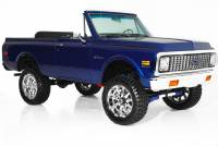 1972 Chevrolet Blazer Blue Metallic, 383, Soft top