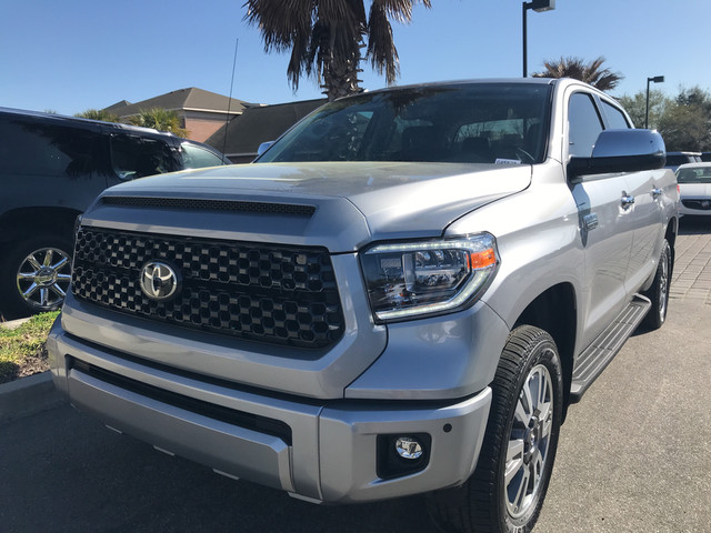 Photo Pre-Owned 2018 Toyota Tundra 4WD Platinum Four Wheel Drive Pickup Truck