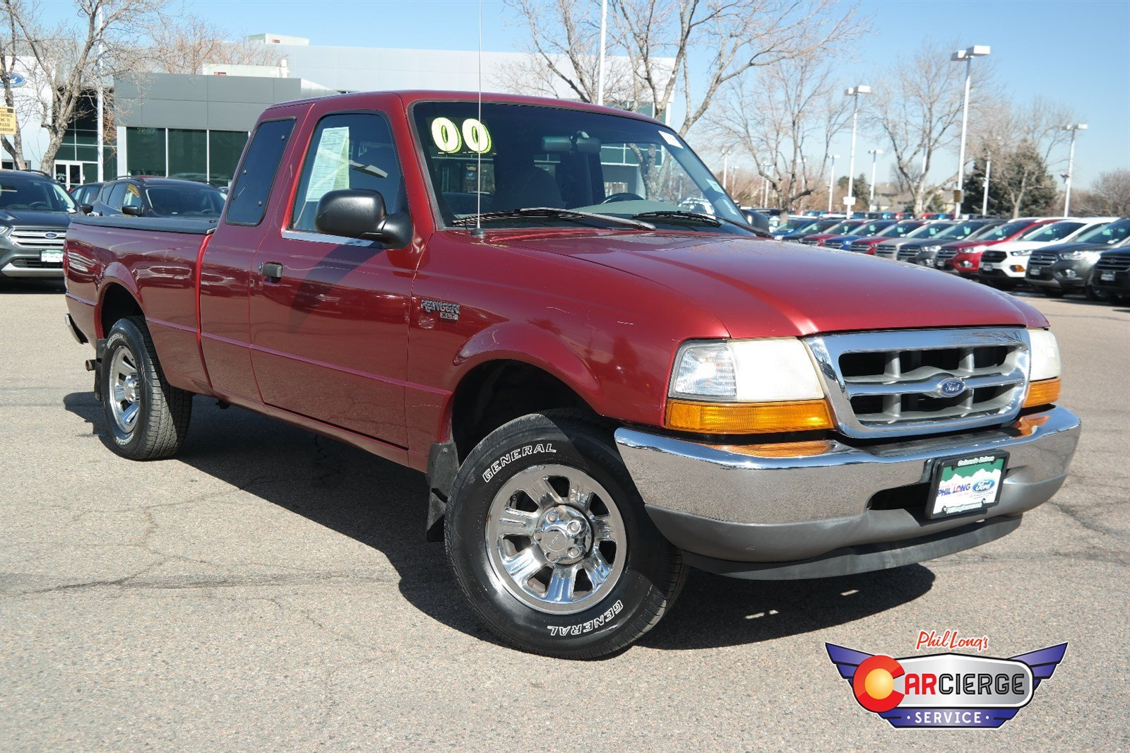 Photo Pre-Owned 2000 Ford Ranger XLT RWD Extended Cab Pickup