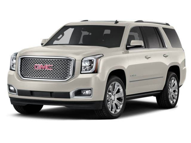 Photo 2015 Certified Used GMC Yukon SUV Denali White Diamond Tricoat For Sale Manchester NH  Nashua  StockB18807A