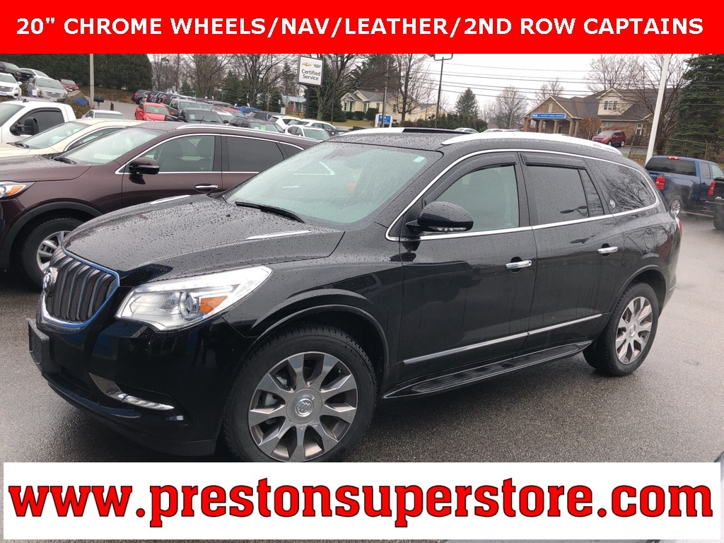 Photo Certified Used 2016 Buick Enclave Leather Group SUV in Burton, OH