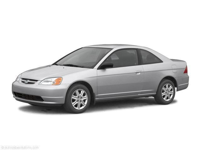 Photo Used 2003 Honda Civic 2dr Cpe LX Auto for Sale in Temecula
