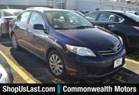 Pre-Owned 2013 Toyota Corolla LE Front Wheel Drive Sedan