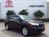 Certified Pre-Owned 2014 Toyota Highlander LE V6 AWD