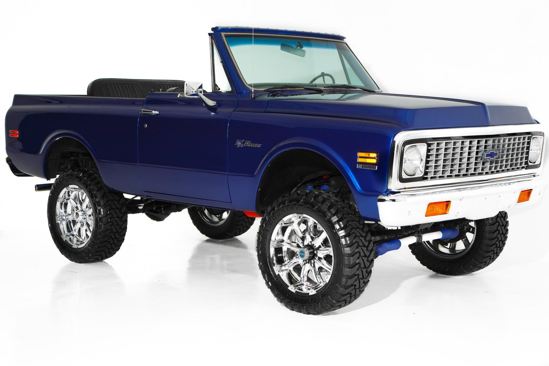Photo 1972 Chevrolet Blazer Blue Metallic 383 Soft top