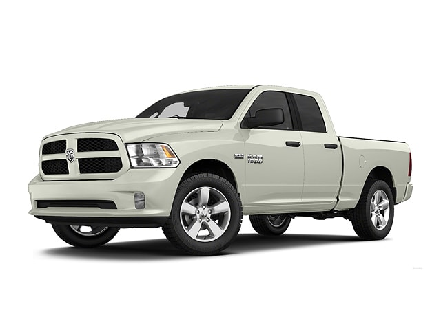 Photo Used 2013 Ram 1500 Express 4WD Quad Cab 140.5 Express in Utica, NY
