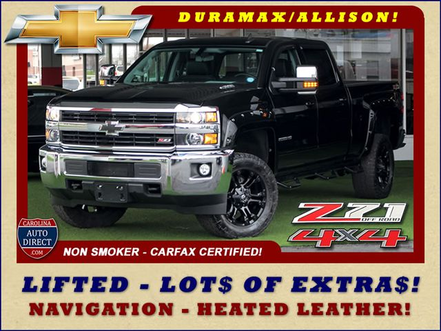 Photo 2015 Chevrolet Silverado 2500HD Built After Aug 14 LT Crew Cab 4x4 Z71 - LIFTED - LOT OF EXTRA
