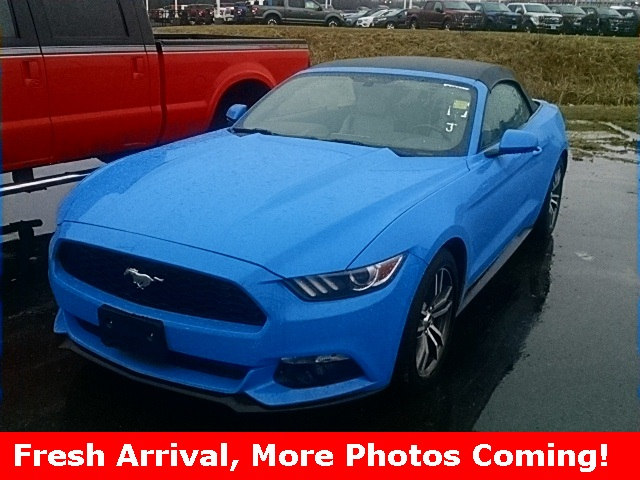 Photo 2017 Ford Mustang Ecoboost Premium Convertible