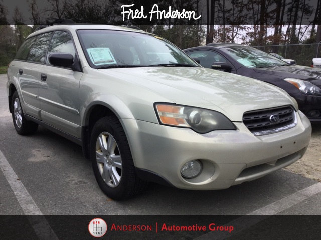 Photo Pre-Owned 2005 Subaru Outback 2.5i Wagon For Sale  Raleigh NC