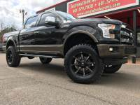 2015 Ford F-150 LARIAT CREW CAB SHORT BED 4WD CUSTOM LIFTED