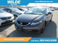 Certified Pre-Owned 2015 Honda Civic EX FWD 4dr Car