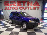 2005 Ford Escape XLT 4X4 AUTO 3.0L V6 SUV LOW MILES 96K MOONROOF!