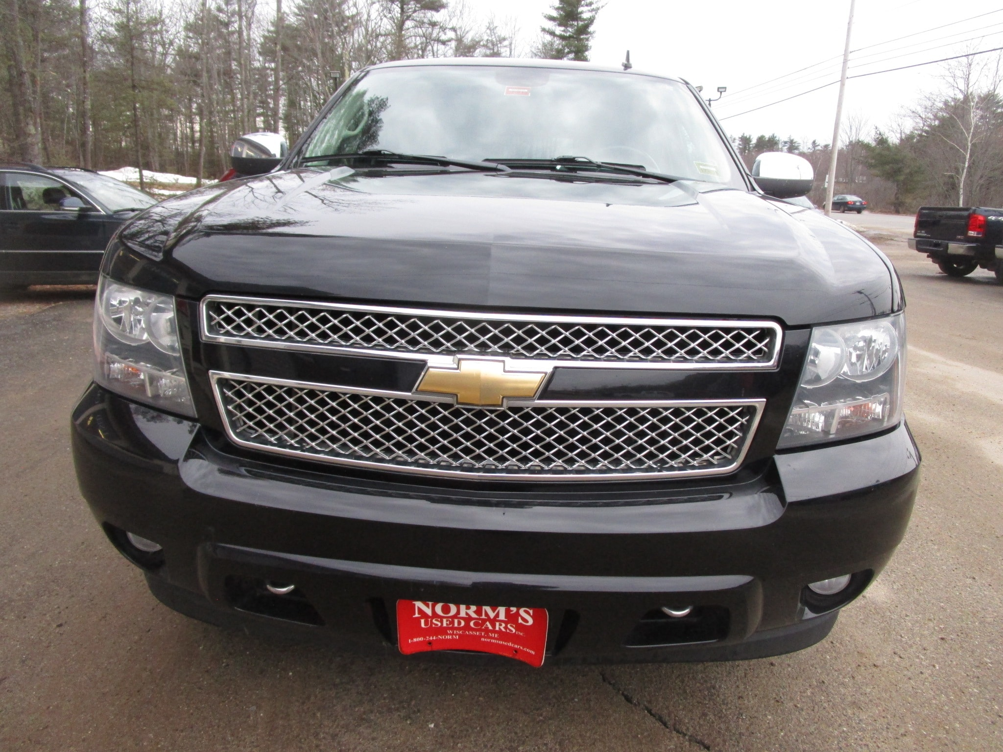 Photo Used 2011 Chevrolet Tahoe For Sale  Wiscasset ME