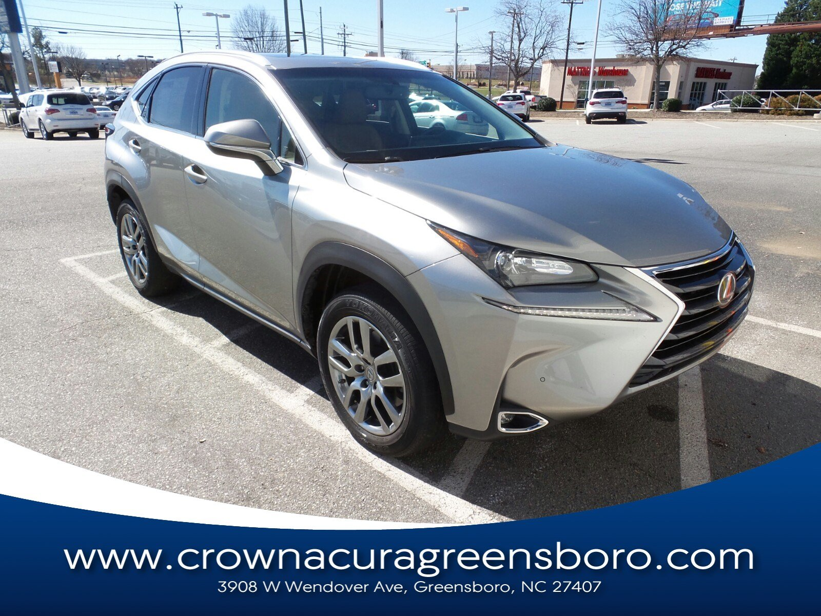 Photo Pre-Owned 2015 LEXUS NX 200t 200t in Greensboro NC