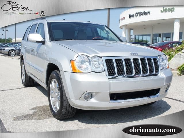 Photo 2008 Jeep Grand Cherokee Overland SUV For Sale  Greenwood IN