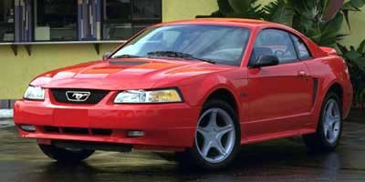 Photo Pre-Owned 2000 Ford Mustang 2DR CPE RWD 2dr Car