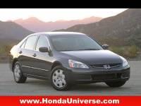 Pre-Owned 2003 Honda Accord EX Auto V6 w/Leather FWD EX V-6 4dr Sedan