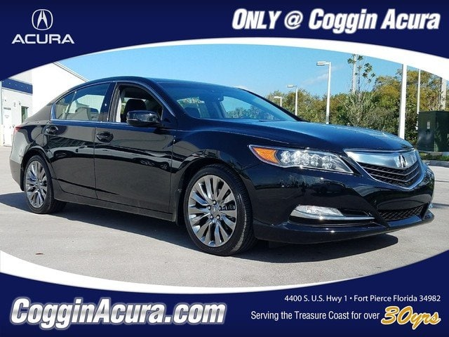 Photo Certified 2016 Acura RLX RLX with Technology Package Sedan in Jacksonville FL