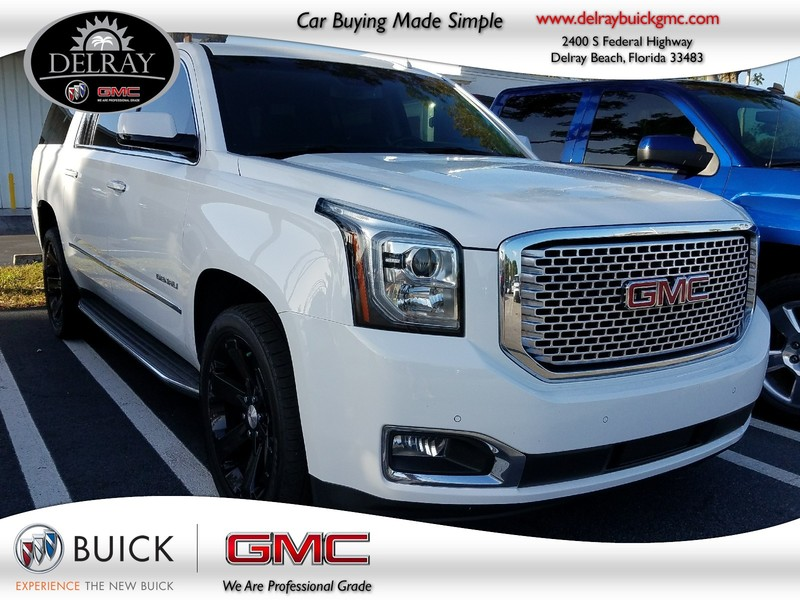 Photo Pre-Owned 2016 GMC YUKON XL DENALI Rear Wheel Drive Sport Utility Vehicle